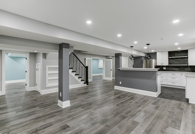 Unfinished Basement Gym Ideas